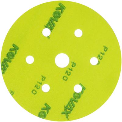 50 x Kovax MAXFILM P400 Exzenterscheiben Schleifscheiben 152 MM 15-LOCH